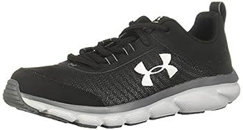 Under Armour Unisex-Youth Grade School Assert 8 Sneaker Black  001 /Pitch Gray 3.5