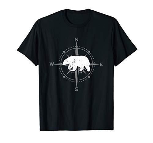 Kompass und Eisbär   Abenteuer im Norden T-Shirt