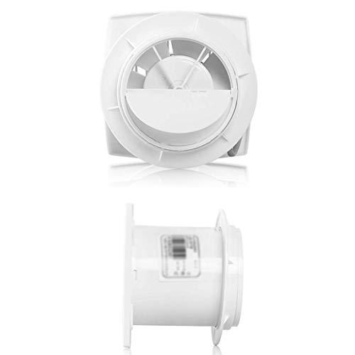 Extractor De Baño, Extractor de baño Ventilador, fanático del extractor de cocina Baño de pared de 6 pulgadas Ventina de pared bajo ruido impermeable y anti-niebla