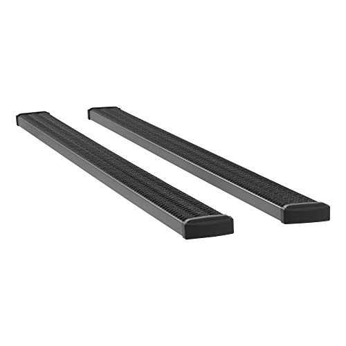 LUVERNE 415125-401439 Grip Step Black Aluminum 125-In Wheel to Wheel Running Boards, Select Ram 2500
