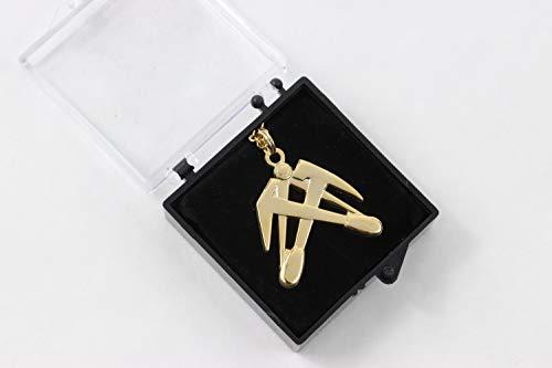 Zunftbedarfde Halskette Dachdecker Stück (1)