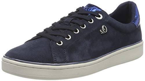 s.Oliver 5-5-23625-24, Zapatillas Mujer, Azul Marino 805, 40 EU