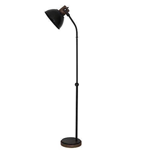 Light & Living Jody - Lámpara de pie (casquillo E27, 40 W, metal, 40 x 28 x 185 cm, clase energética A+)