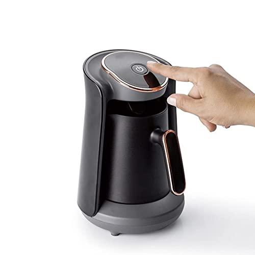 600W Automatyczny ekspres do kawy Bezprzewodowy dzbanek do kawy Moka Czajnik do kawy 220V Przenośny (kolor: fioletowy) (czarny)