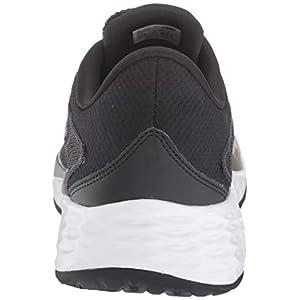 New Balance Men's Fresh Foam Evare V1 Running Shoe, Black/Dark Silver, 10.5