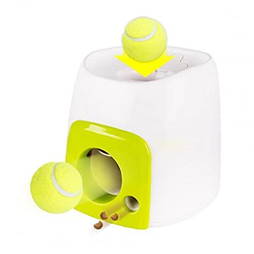 TOSSPER Pet Automático Lanzador Palaza Perro Interactive Flet Toy Todaje Tenis Máquina...