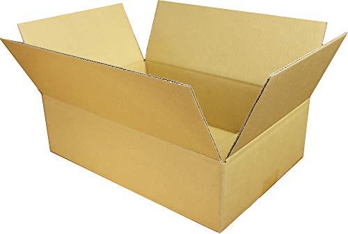 愛パック ダンボール 段ボール 70サイズ 80サイズ A4 対応 60枚 ダンボール箱 宅配 発送 引っ越し 日本製 無地 薄型素材 (350×240×100mm) 70S0260