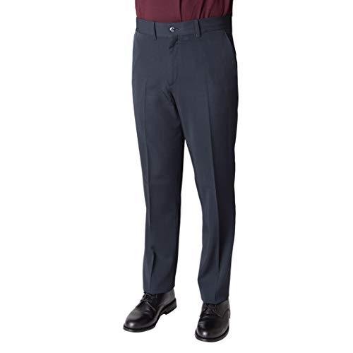 Pantalón negro / marino camarero hombre. Especial Hostelería, músico, conductores. (46, Marino)