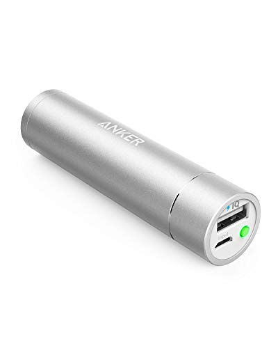 Anker PowerCore+ mini 3350mAh Lipstick-Sized Portable Charger (3rd Generation, Premium Aluminum Power Bank) One of the Most Compact External Batteries