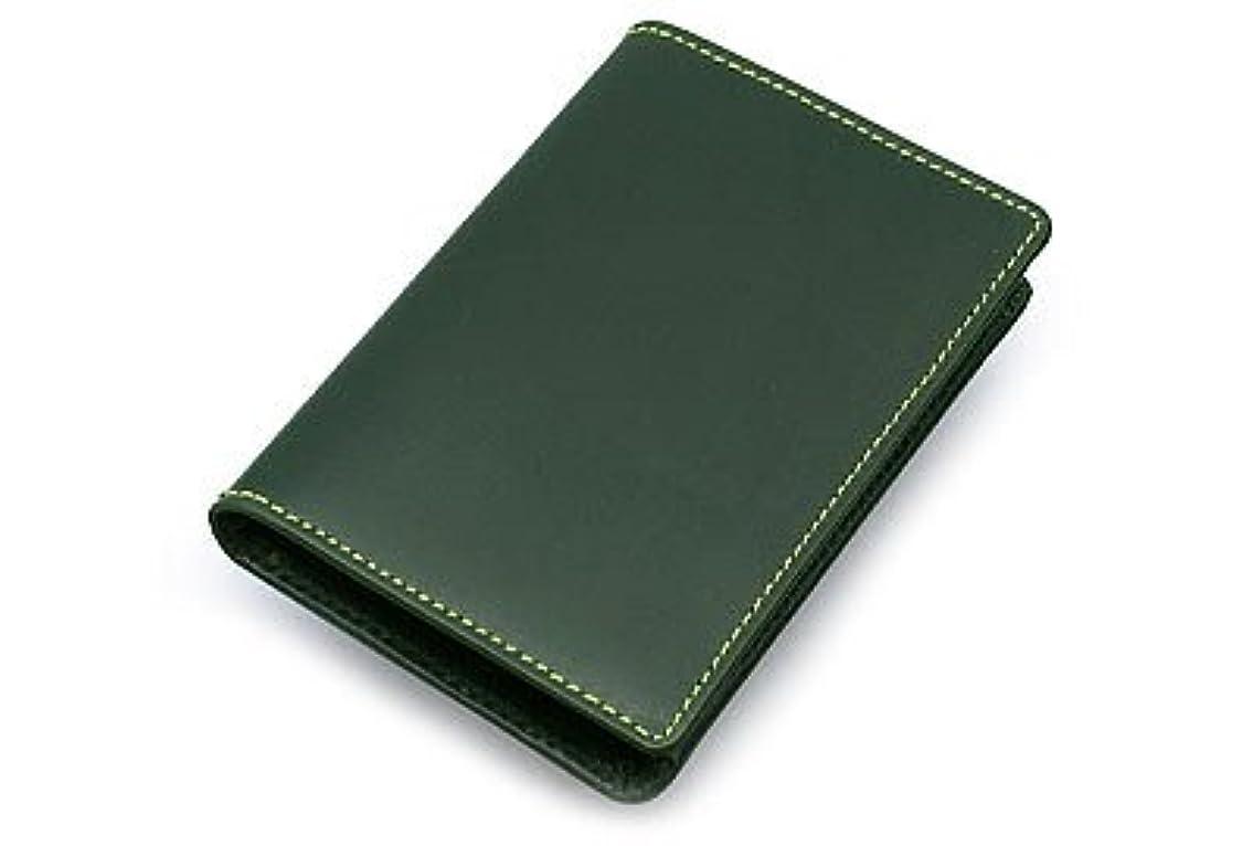 幸運なことに光景覗くWhitehouse Cox『ホワイトハウスコックス』正規取扱店 ブライドルレザーシリーズ NAME CARD CASE S-7412-GREEN