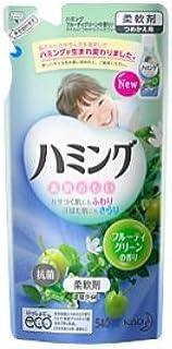 ハミング フルーティグリーンの香り 詰め替え 540mL×15セット
