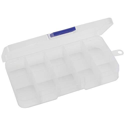 Lixada Tragbare fischerbox Kunststoff angelzubehör aufbewahrungsbox Angeln Werkzeuge lockt Haken fächer Fall