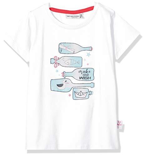 Salt & Pepper Mädchen 03112235 T-Shirt, Weiß (White 010), (Herstellergröße: 92/98)