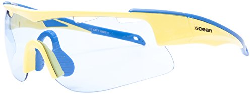 Ocean Sunglasses - Alpine - lunettes de soleil - Monture : Jaune/Bleu - Verres : Bleu (93000.11)