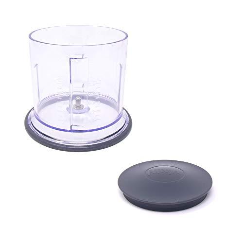 Enbizio Blender Replacement Parts for Ninja Master Prep Qb900B - 16 oz Food Processor Bowl and Storage Lid