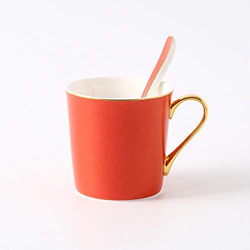 Nordic bone china cup taza de café pintada a mano desayuno