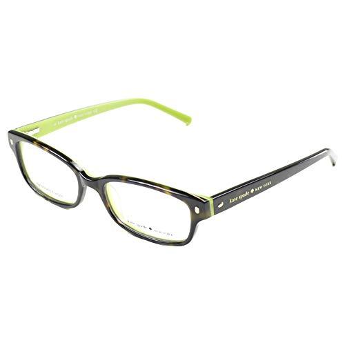 Kate Spade Lucyann Eyeglasses-0DV2 Tortoise Kiwi-49mm