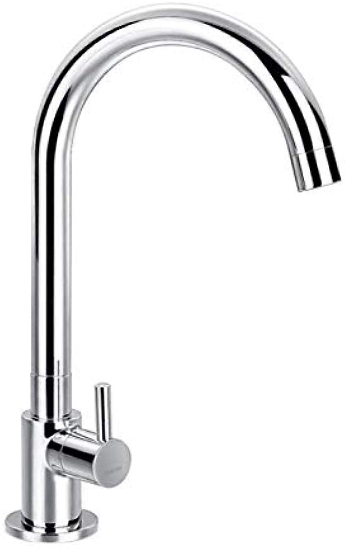 Bathroom Faucet Single Cold Faucet Copper Single Cold Kitchen Faucet Single Cold Basin Faucet