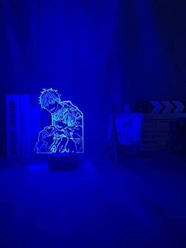 Gifts for Women 3D Lights Anime Acrylic 3D Lamp BL Anime Given Light for Bed Room Decor Colorful Nightlight BL Table Lamp Given Led Night Light