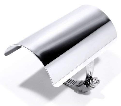 Hitzeschutzblech Hitzeschild Heat Shield Custom Chrom Harley Choppper
