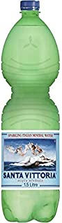 Vittoria Mineral Water PET Bottle (Sparkling), 1.5 l (Pack of 6)