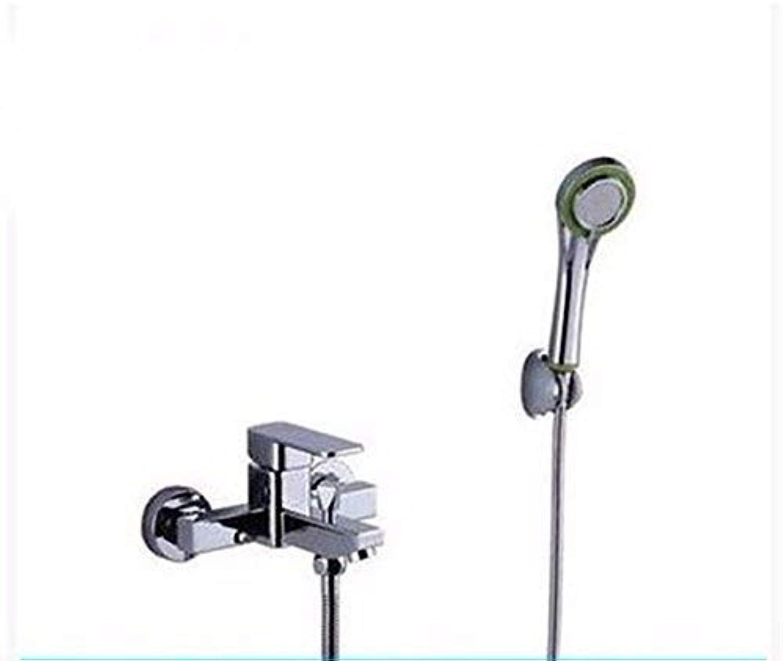 HhGold Warmes und kaltes Waschbecken in der Dusche Klicken Sie auf den Griff Einlochmontage Edelstahl unter Wasser
