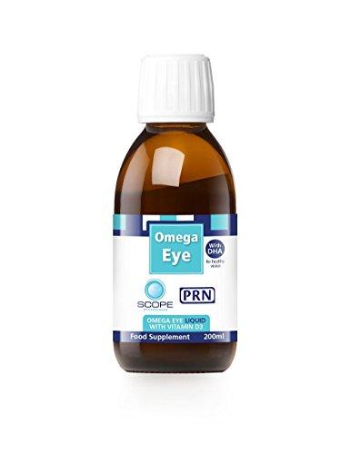 PRN Omega Eye Omega 3 Liquid with Vitamin D3 (200ml)