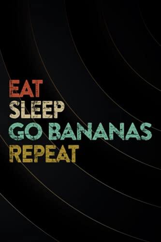 Banana Monkey Merch - Eat Sleep Go Bananas Repeat! Premium Meme Password book: Log Book & Notebook for Passwords and ShitPassword book with tabsAlphabetized notebook,Organizer
