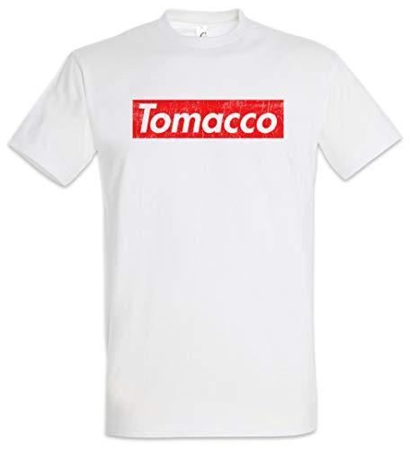 Urban Backwoods Tomacco Herren T-Shirt Weiß Größe XL