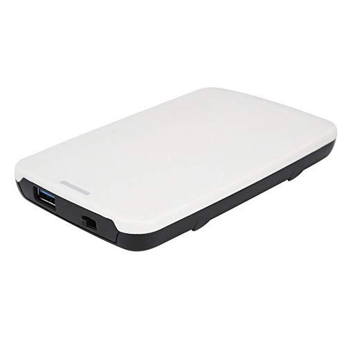 ASHATA Mobile USB 2.0 harde schijf box, licht en eenvoudig in uiterlijk, draagbare externe 2-TB-harde schijf, 480 Mbit/s ultrahoge snelheid, voor 2,5 inch SATA