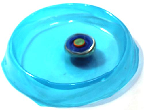 ONCEMORE Kid's Metal Plastic 2 Launcher Beyblades with Stadium (Multi Color,Pack of 1 Set)