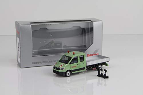 Herpa VW Crafter DoKa Pritsche Geiger Nr. 938600 /HN158
