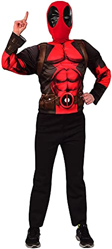 Imagine by Rubie's Child's Marvel Deadpool Deluxe Mask and Costume Top...