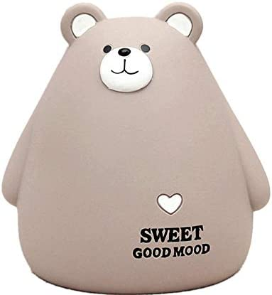 Heidaman Resin Cute Bear Piggy Bank for Boys Girls Anti Fall Cool Coin Bank for Kids Adults product image