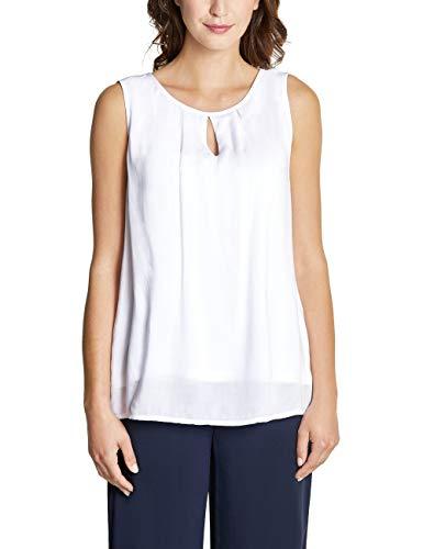 Street One Damen 341521 Bluse, White, (Herstellergröße:36)