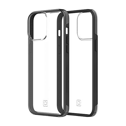 Incipio Organicore Clear Hülle kompatibel mit Apple iPhone 13 Pro Max [100prozent Kompostierbar und pflanzliche Materialien I 4,2m sturzfest I Qi und MagSafe kompatibel I Schlankes Hülle] schwarz/transparent
