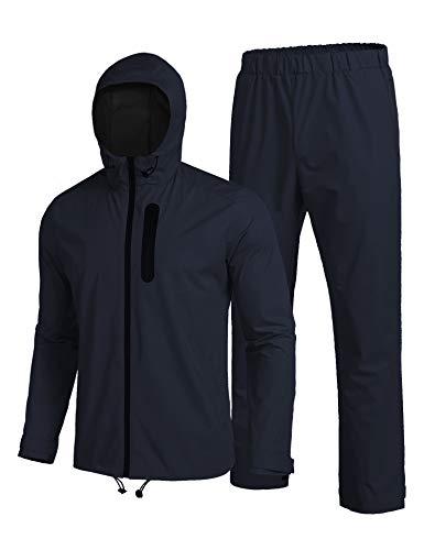 Dickies Men's Basic Blended Coverall, Dark Navy, M Regular