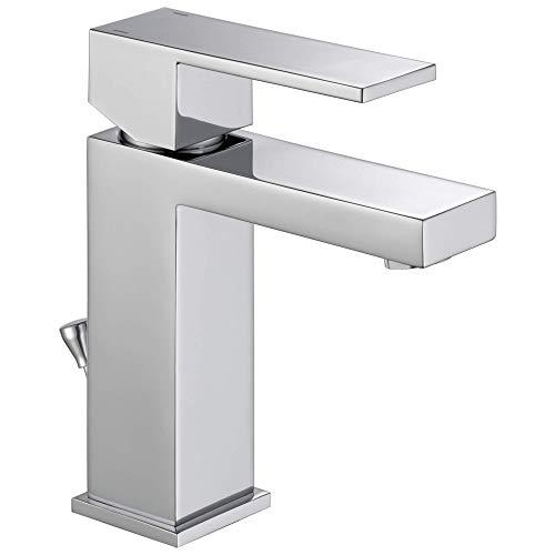 Delta Faucet Modern Single Hole Bathroom Faucet