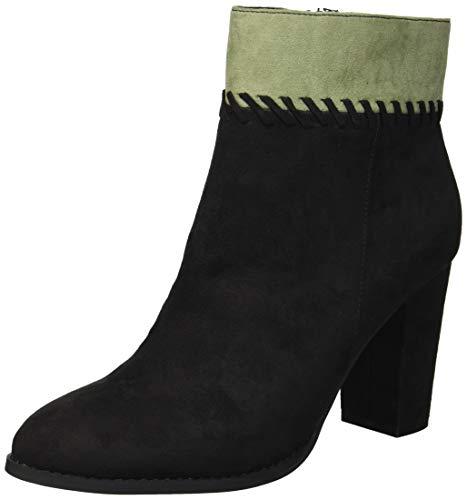 Athena Alexander Women's Nantes Ankle Boot, Black Suede, 10 M US