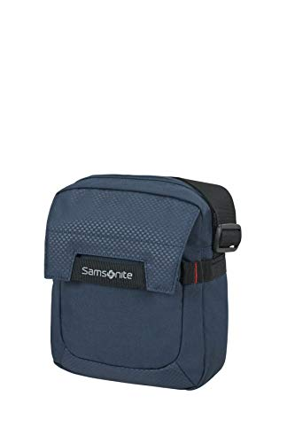 Samsonite Sonora - 7.9 Pulgadas Bolsa Bandolera para Tablet, 24 cm, 4.5 L, Azul (Night Blue)