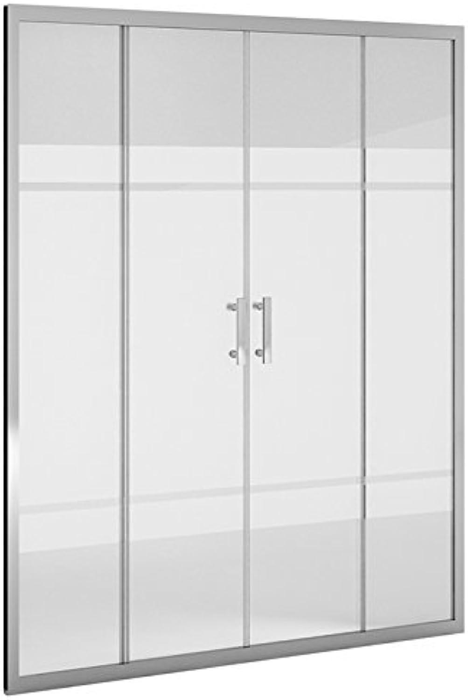 Duschwand Dusche _ PDM _ FRONT Siebdruckdesign 2+ 2