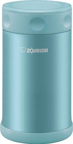 Zojirushi Jarra de alimentos de aço inoxidável, 740 ml, azul aquático