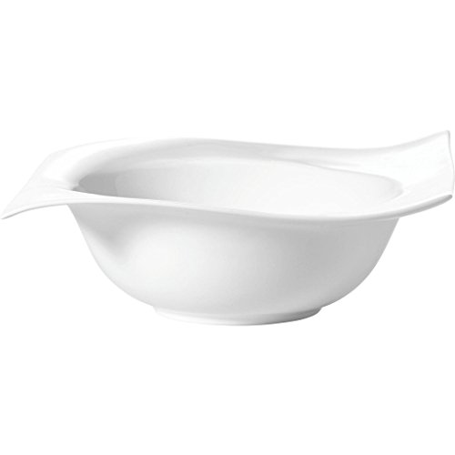MAXWELL rp00223 rectangulaire Porcelaine Blanc Bol – Bol Rectangulaire, 1 Personne (s), Porcelaine, Blanc, Personnel, 235 mm
