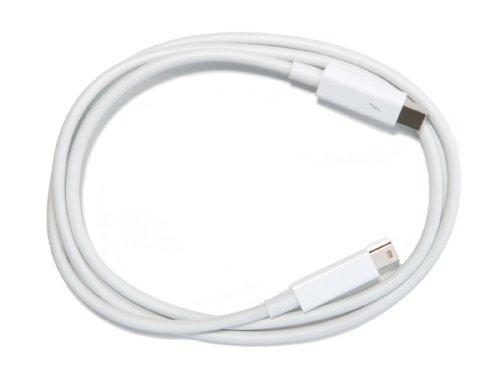 DeLOCK Thunderbolt Kabel (Stecker auf Stecker, 1m) weiß, Thunderbolt2 20 Gb/s kompatibel
