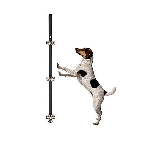 chinacam66Premium Qualität Hund Tür Glocken für Töpfchen Go Out Training Verstellbare Springseil Große Lauter Türklingeln Beugen Kratzern Bellen