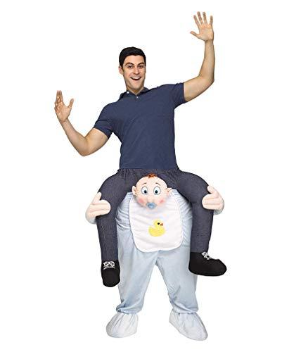 """""""Carry Me"""" Reiter auf Baby Kostüm One Size"""
