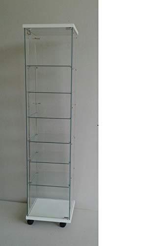 ABP - 6 vitrinas, ajustables, 6 estantes, vitrinas, escaparates, escaparates, decoración de tiendas