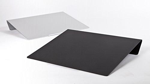執務姿勢変革プロジェクト卓上傾斜台angle10(アングルテン)ブラック専用マット付属WH-AG10-BK