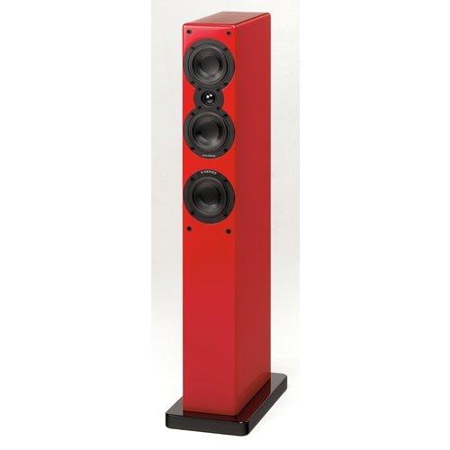 Scansonic S9 Lautsprecher Hochglanz rot