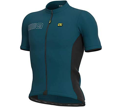 Alé Cycling Solid Color Block Kurzarm Trikot Herren Lagoon Größe XL 2020 Radtrikot kurzärmlig